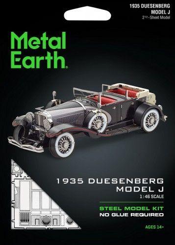 Metal Earth Metal Earth, Duesenberg Model J 1935 r. Metalowy model do składania 1