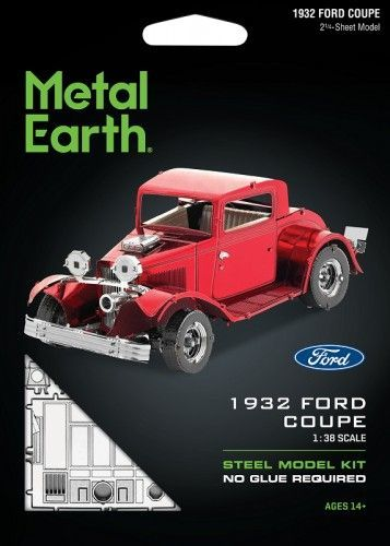 Metal Earth Metal Earth, Ford Coupe 1932 r. Metalowy model do składania 1