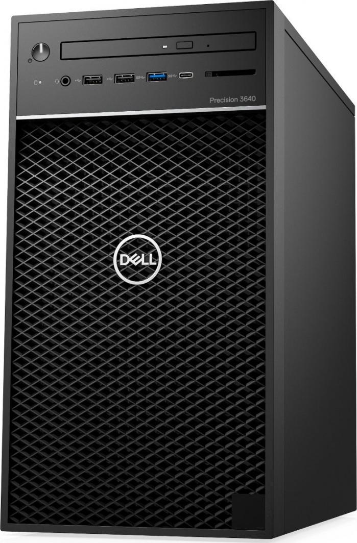 Komputer Dell Precision T3640, Core i7-10700, 16 GB, Quadro P620 Intel UHD Graphics 630, 512 GB M.2 PCIe 1 TB HDD Windows 10 Pro 1