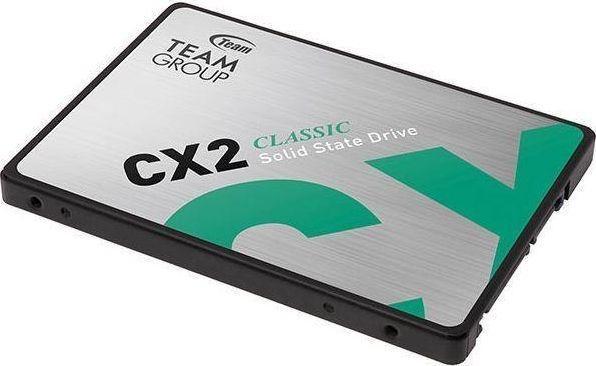 "Dysk SSD Team Group CX2 256 GB 2.5"" SATA III (T253X6256G0C101) 1"