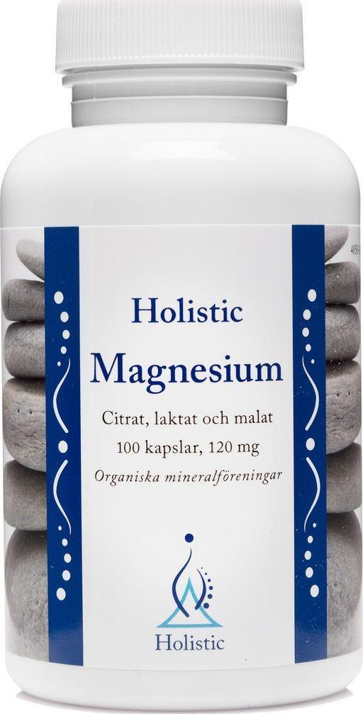 Holistic Holistic Magnesium Magnez Organiczny Jabłczan Magnezu Cytrynian Magnezu Mleczan Magnezu Łatwo Przyswajalny 1