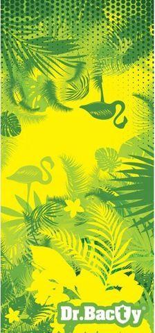 Dr.Bacty Ręcznik szybkoschnący Tropical L zielony 1