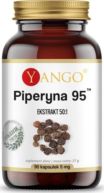 Yango Piperyna 95 - 90 Kapsułek Bioperine Bioperyna 1