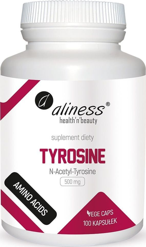 Holistic Tyrosine 500Mg 100 Kaps. Aliness N-Acetyl-Tyrosina 1