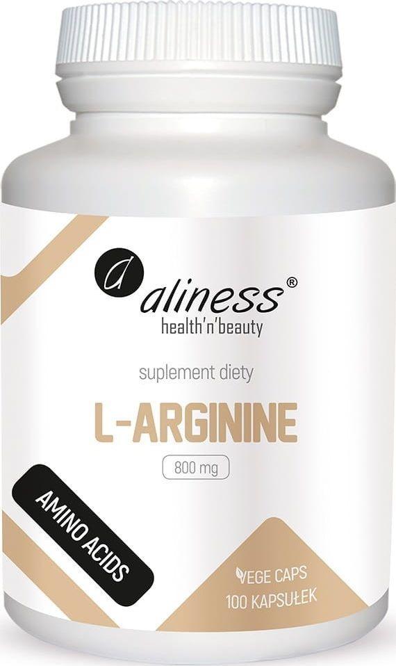 Holistic L-Arginine 800Mg 100 Kaps. Aliness L-Arginina 1