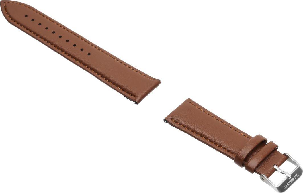 Garett Electronics Pasek do Garett Men 3S brązowy, skórzany 1