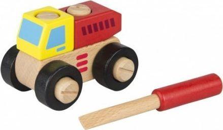 iWood Klocki drewniane Wywrotka do skręcania 1