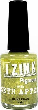 Aladine Farba do szkła Izink 11,5 ml Khaki 1
