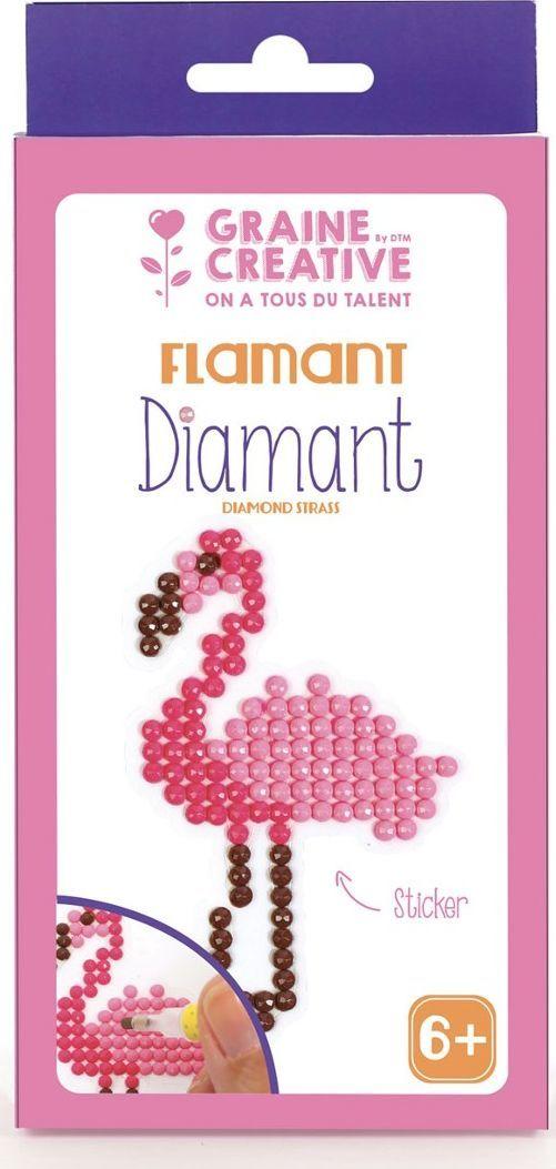 Graine Creative Naklejka Diamentowa Mozaika Flaming 1