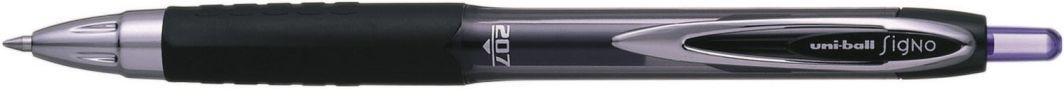 Uni Mitsubishi Pencil Długopis żelowy UMN207 czarny 1