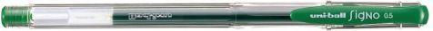 Uni Mitsubishi Pencil Długopis Żelowy UM100 Zielony 1