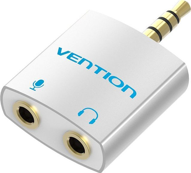 VENTION Splitter Audio VENTION Mini Jack 3,5mm -- 2x Mini jack 3,5mm: Mic + Słuchawki 1