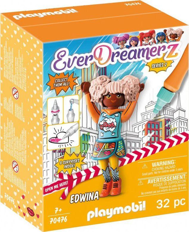Playmobil Zestaw figurek Edwina Comic World EverDreamerz (70476) 1