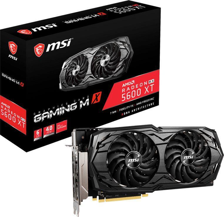 Karta graficzna MSI Radeon RX 5600 XT Gaming MX 6GB GDDR6 (RX 5600 XT GAMING MX) 1