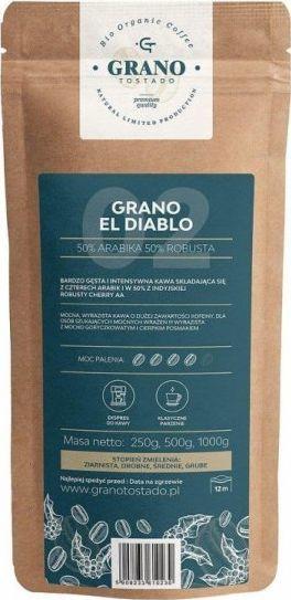 Kawa ziarnista Grano Tostado GRANO EL DIABLO Kawa ziarnista - 1kg 1