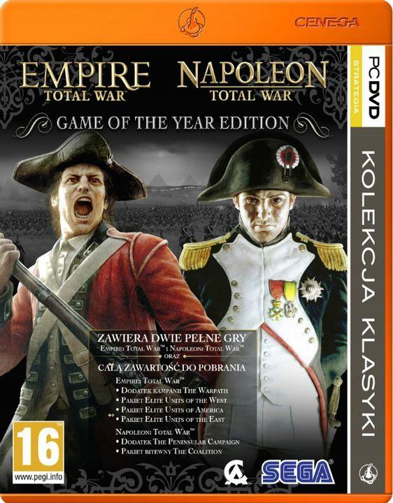 Empire: Total War + Napoleon: Total War - Game of the Year Edition PC 1