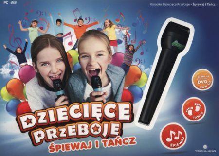 Karaoke Dziecięce Przeboje Śpiewaj i Tańcz PC 1