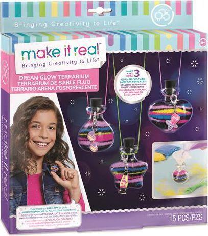 Make it real Make it real - Zestaw do tworzenia naszyjników świecących w ciemności 1