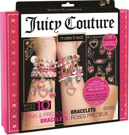 Make it real Make it real - Zestaw do tworzenia bransoletek - Juicy Couture Pink and Precious 1