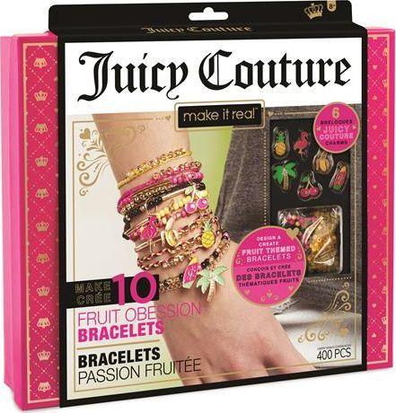 Make it real Make it real - Zestaw do tworzenia bransoletek - Juicy Couture Fruit Obsessions 1