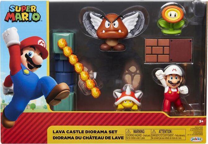Jakks Pacific Super Mario Lava Castle zestaw 1