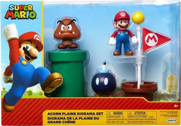 Jakks Pacific Super Mario Acorn Plains zestaw 1