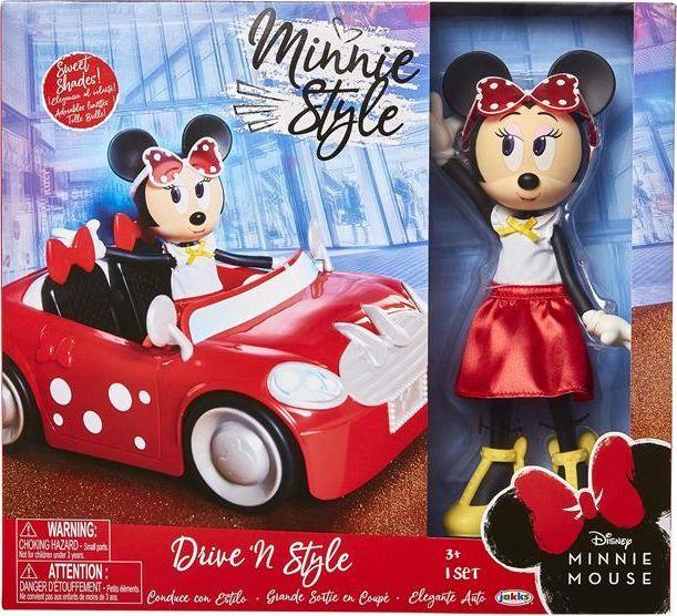 Jakks Pacific Lalka Minnie Mouse i Samochód Minnie Cooper 1