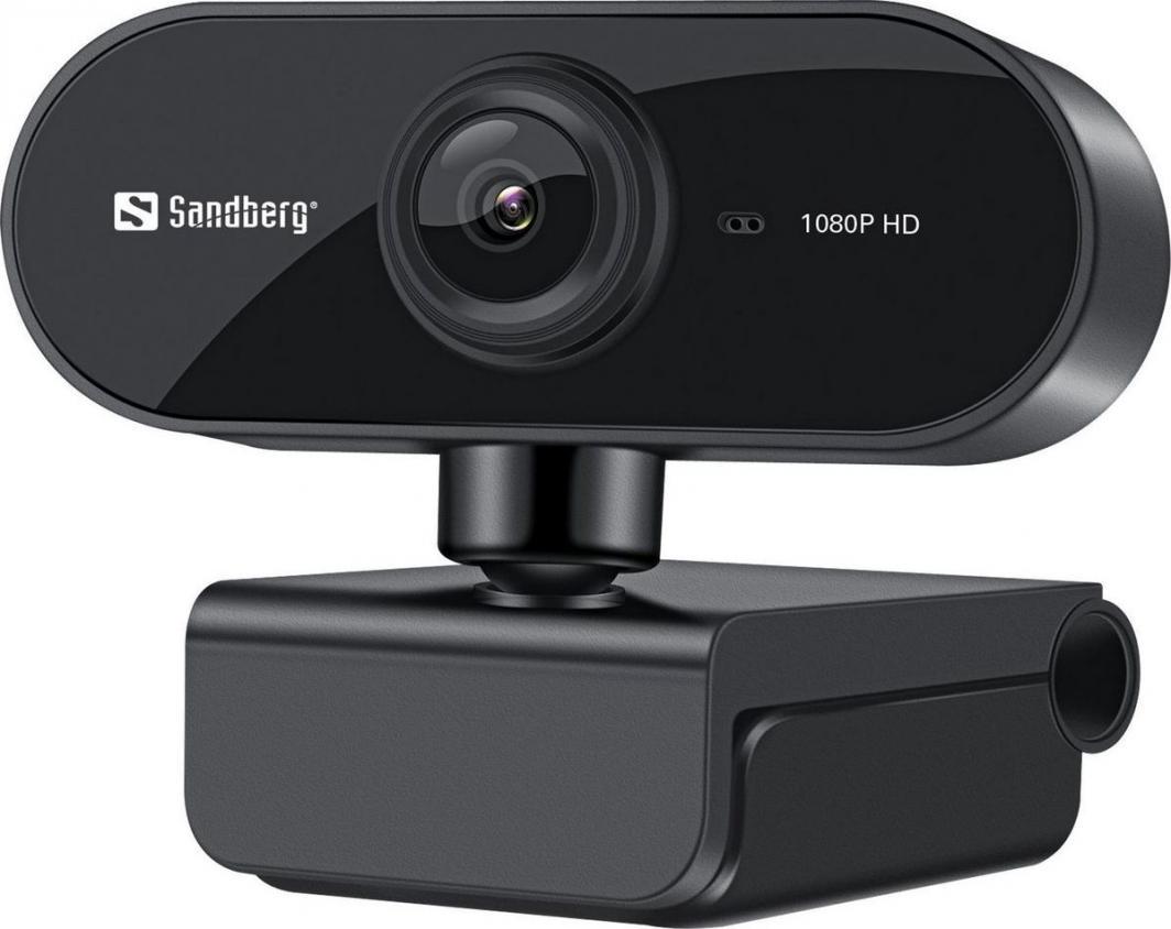 Kamera internetowa Sandberg USB Webcam Flex 1080P HD (133-97) 1