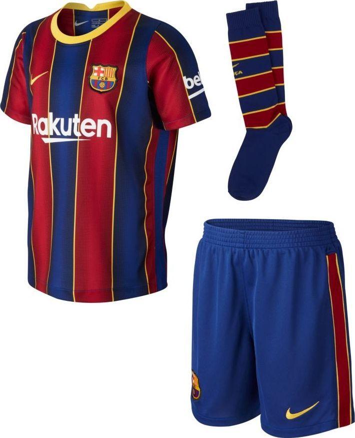 Nike Komplet Nike FC Barcelona 2020/21 Home CD4590 456 CD4590 456 granatowy L 1