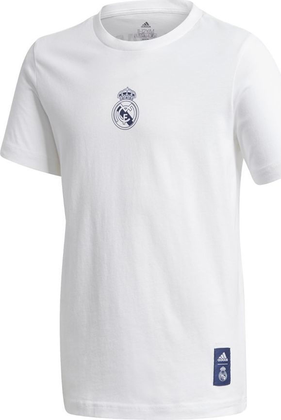 Adidas Koszulka adidas Real Madryt Kids Tee GH9992 GH9992 biały 140 cm 1