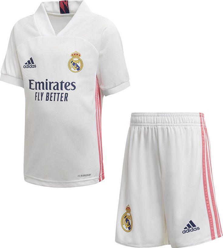 Adidas Komplet adidas Real Madryt Home FQ7487 FQ7487 biały 98 cm 1