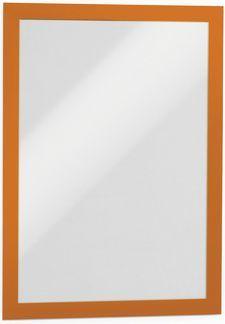Durable Samoprzylepna ramka informacyjna A4 pomarańczowa 2szt. (4872-09) 1