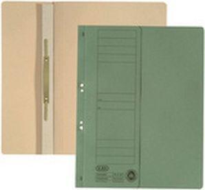 Elba Skoroszyt kartonowy oczkowy, A4, połówkowy, zielony (BX5355) 1