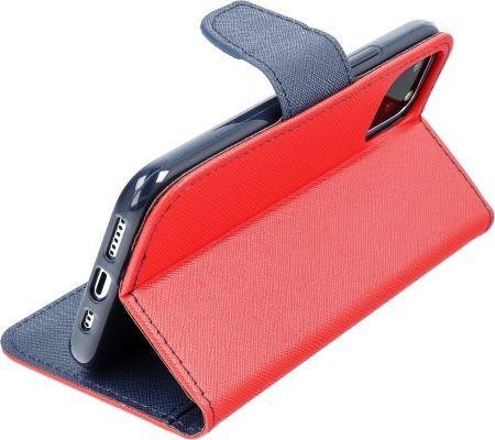 ForCell Kabura Fancy Book do Xiaomi Mi 10 Lite czerwona 1