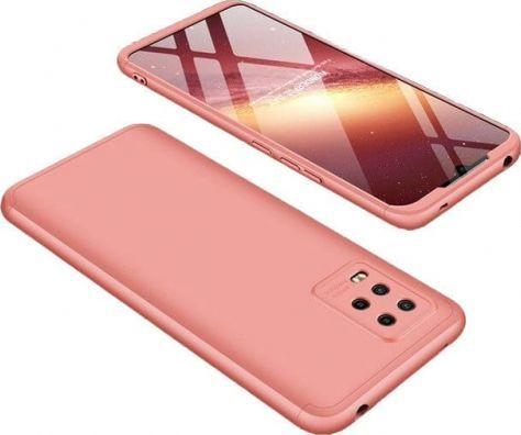 360 case GKK 360 3w1 Etui Xiaomi Mi 10 Lite różowe 1