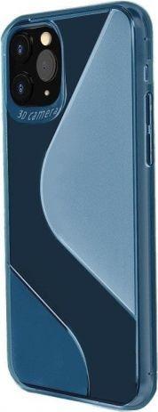 Hurtel S-Case etui TPU do Xiaomi Redmi Note 9 Niebieski 1