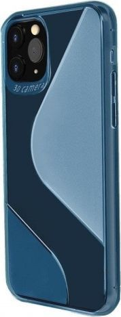 Hurtel S-Case etui TPU do Xiaomi Redmi Note 9 Pro 9S Niebieski 1