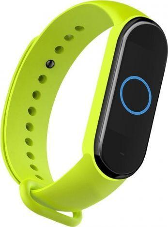 Hurtel Opaska Xiaomi Mi Band 5 Silikonowa Zielona 1