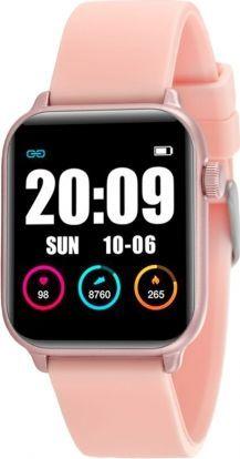 Smartwatch Rubicon KW37 Różowy  (RNCE57RIBX05AX) 1