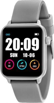 Smartwatch Rubicon KW37 Srebrny  (RNCE57SIBX05AX) 1