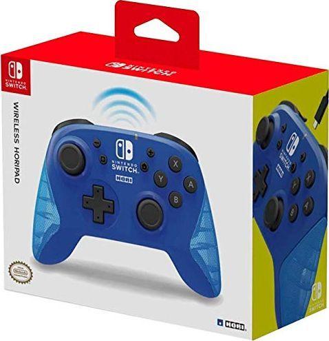 Gamepad HoriPad Nintendo Switch bezprzewodowy (niebieski) 1