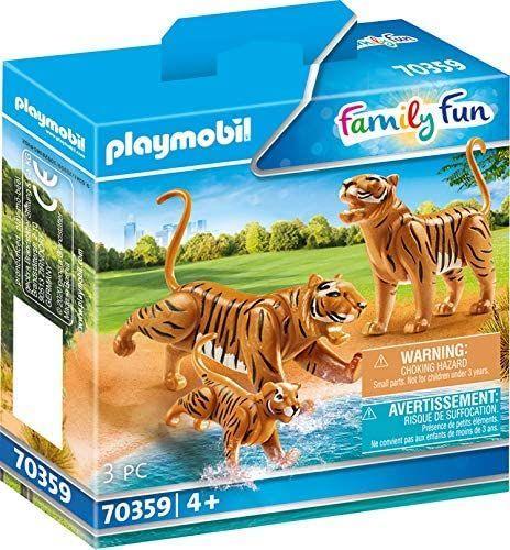 Playmobil Dwa tygrysy z młodym (70359) 1