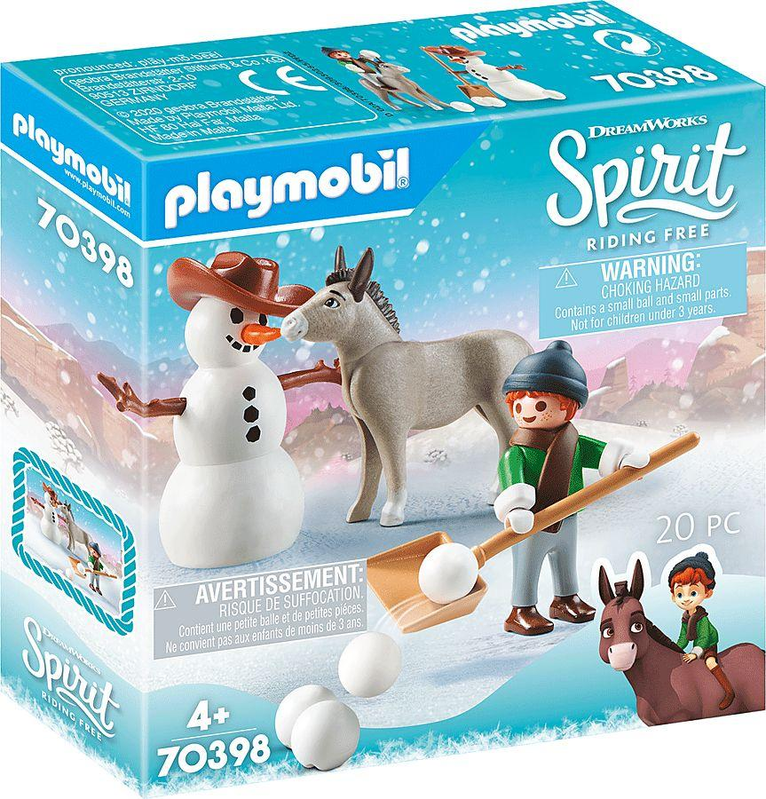 Playmobil Snow time with Snips & Hr Carrot (70398) 1