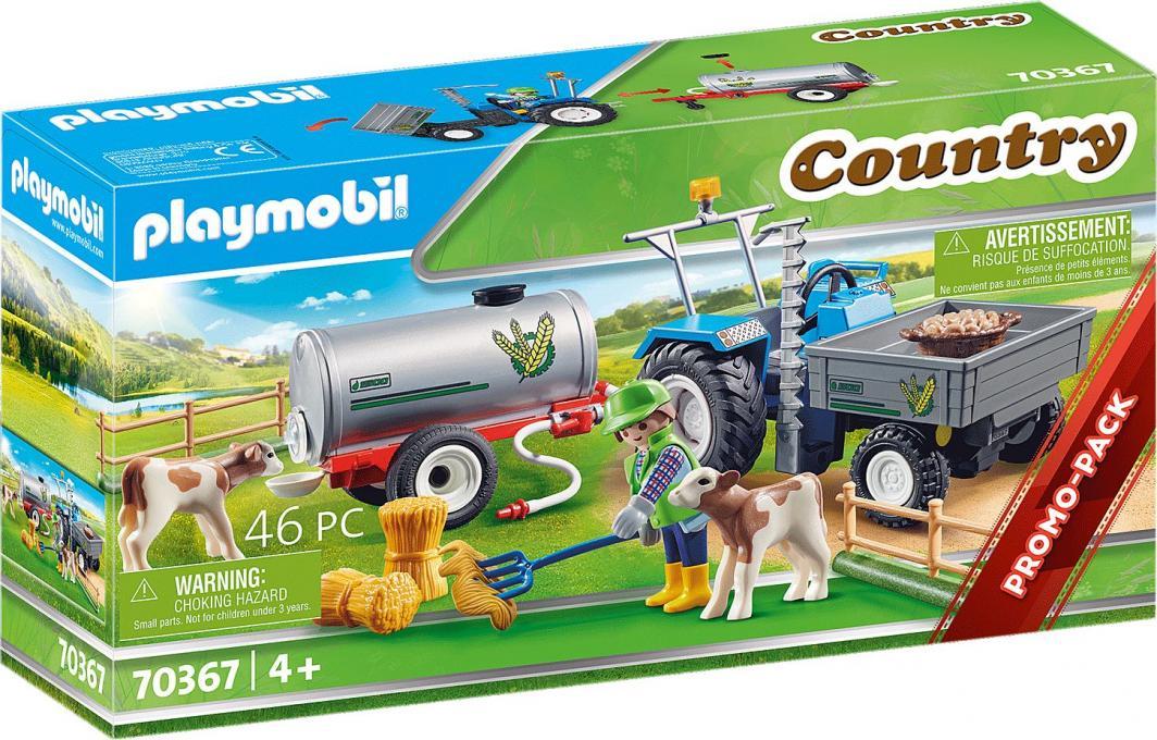 Playmobil Traktor ze zbiornikiem na wodę (70367) 1