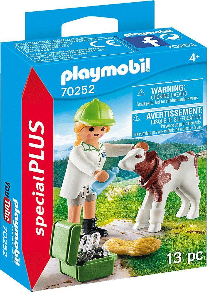 Playmobil Weterynarz z cielęciem (70252) 1