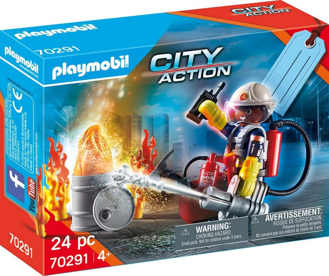 Playmobil Zestaw upominkowy Straż pożarna (70291) 1