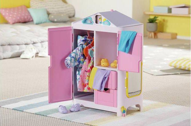 Zapf Creation BABY born® cupboard with weather duck 1