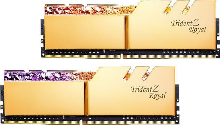 Pamięć G.Skill Trident Z Royal, DDR4, 16 GB, 3600MHz, CL16 (F4-3600C16D-16GTRGC) 1