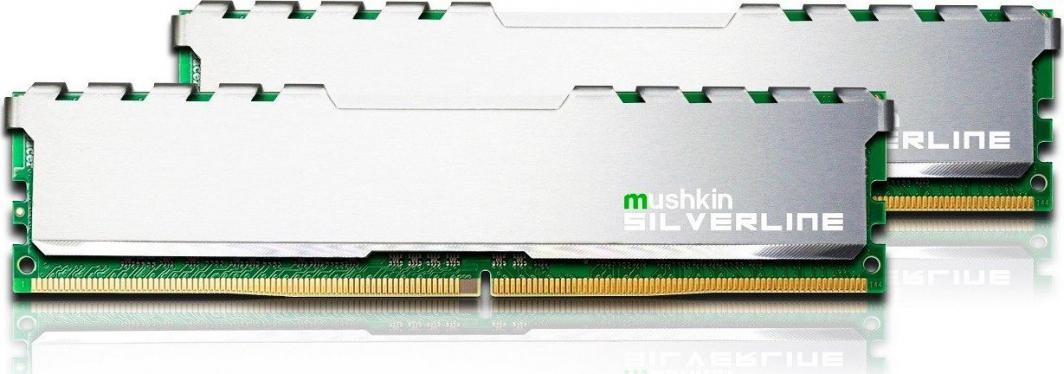 Pamięć Mushkin Silverline, DDR4, 64 GB, 2666MHz, CL19 (MSL4U266KF32GX2) 1