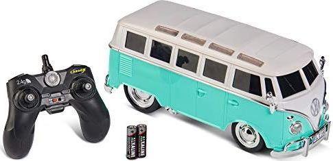 Carson 1:14 VW Beetle 2.4GHz powder blue 500907323 1